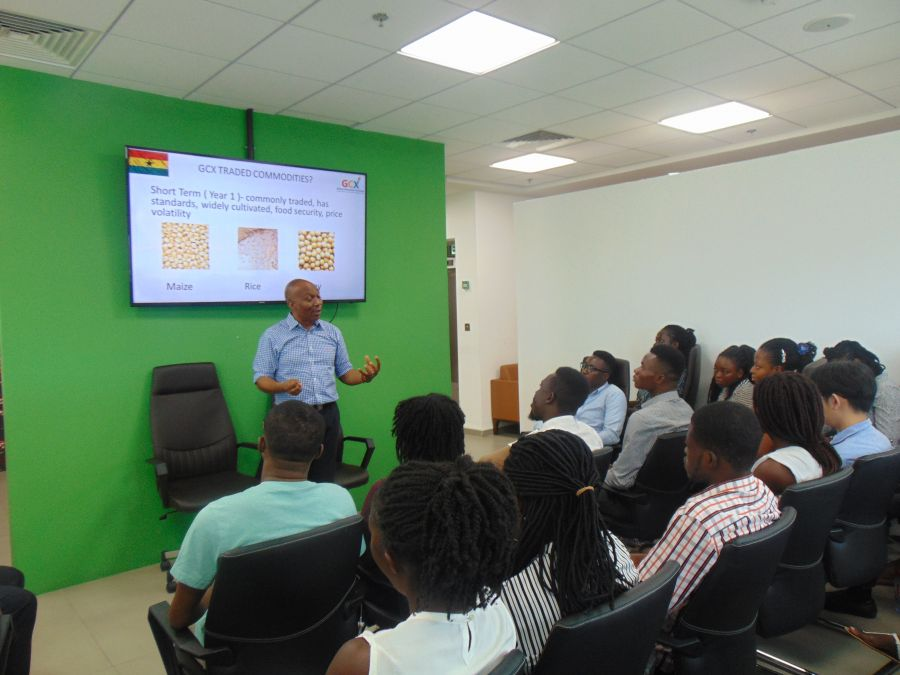 Ghana Commodity Exchange welcomes UGBS students image