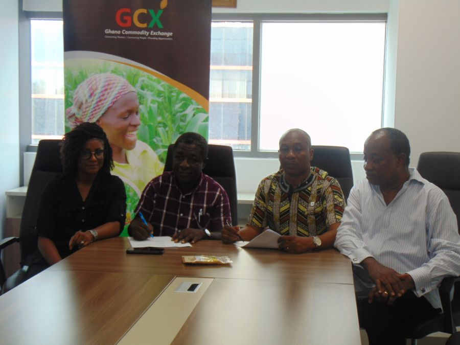 GHANA COMMODITY EXCHANGE PARTNERS  WITH CASHEW INDUSTRY ASSOCIATION OF GHANA image