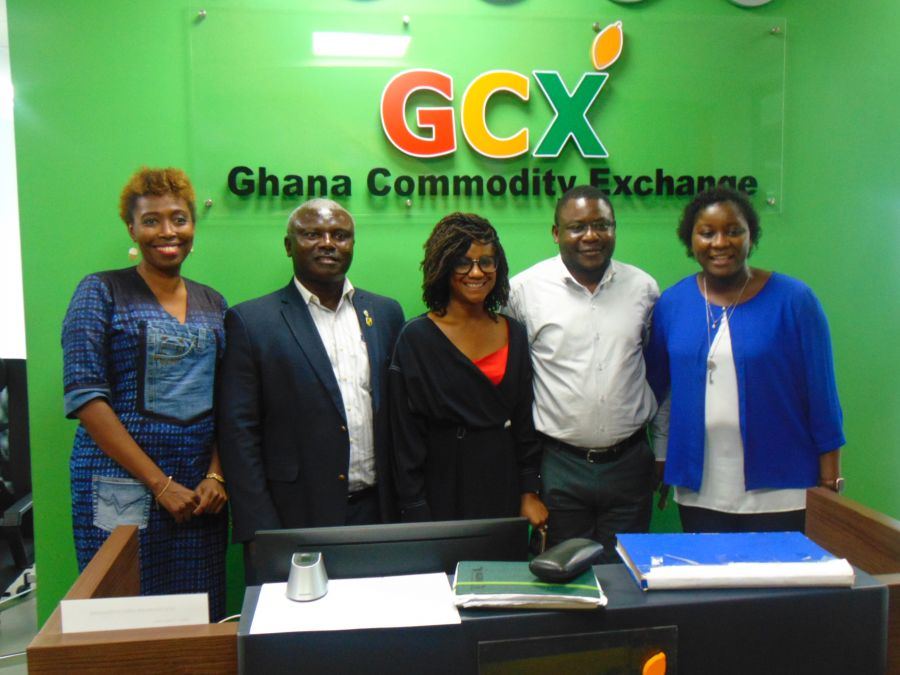 AGRA EXECUTIVES VISIT GCX OFFICES image