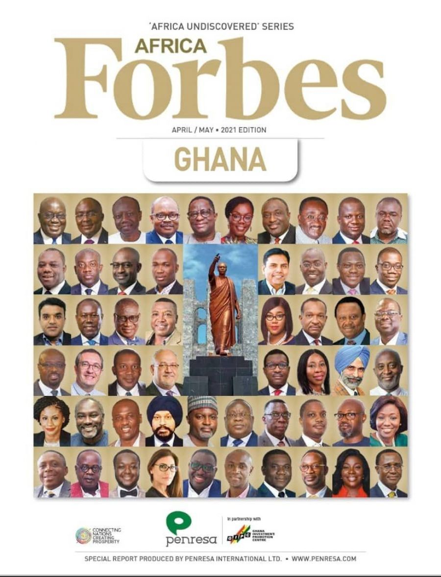 GCX FEATURES IN THE APRIL/MAY, 2021 EDITION OF FORBES AFRICA MAGAZINE THEMED PIONEERING AFRICA'S LEGACY image