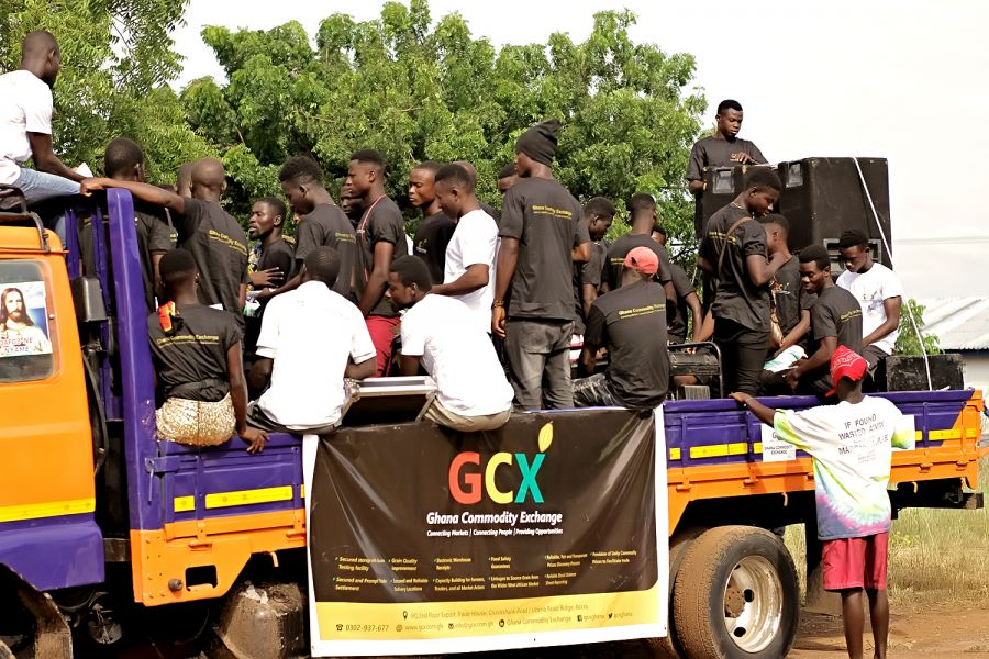 GHANA COMMODITY EXCHANGE LAUNCHES OPERATIONS IN AFRAM PLAINS. image