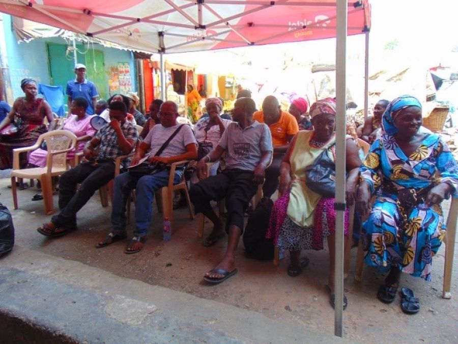 GCX engages traders in Kaneshie Market image