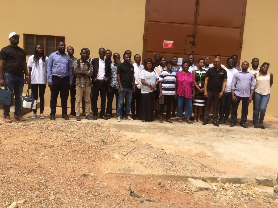 Ghana Commodity Exchange (GCX) Takes Its Members to Tour the Kumasi Warehouse image