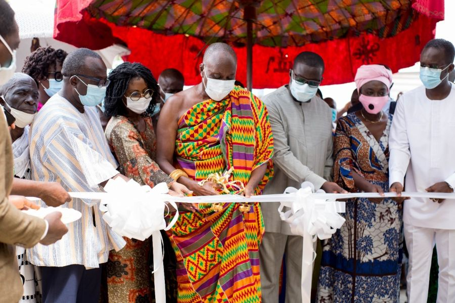 GHANA COMMODITY EXCHANGE IN COLLABORATION WITH JUABEN FOOD BANK LAUNCHES OPERATIONS IN JUABEN. image
