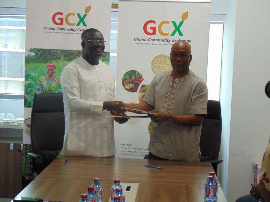 OVER 12,000 FARMERS TO BENEFIT FROM STORAGE & READY MARKET AS GCX PARTNERS JFB. IN JUABEN ASHANTI image