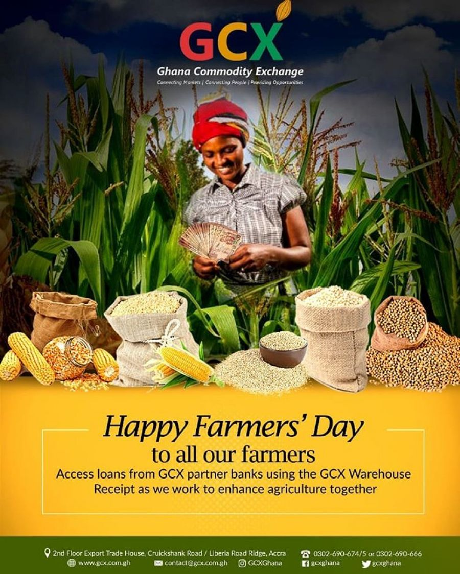 GCX Wishes Happy Farmers Day To All Farmers image