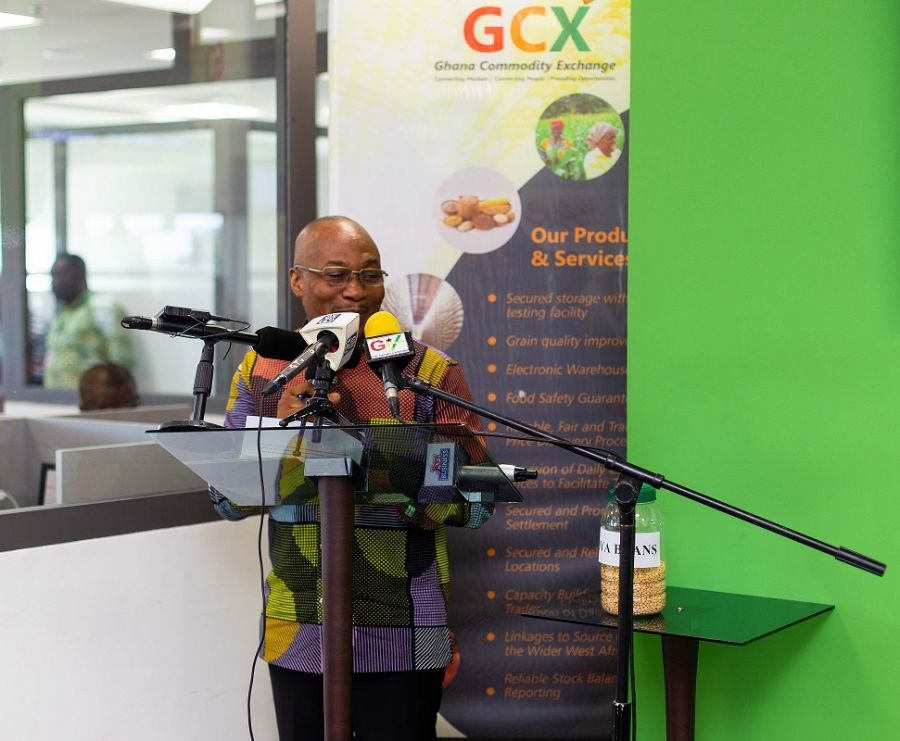 THE GHANA COMMODITY EXCHANGE TO RING THE BELL FOR FIRST TRADE OF SOYA BEAN image