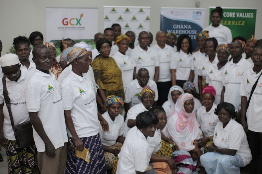 GHANA COMMODITY EXCHANGE WITH ARB APEX BANK LAUNCHES ELECTRONIC WAREHOUSE RECEIPT FINANCING WITH GHS 50MILLION FOR GHANAIAN SMALLHOLDER FARMERS image