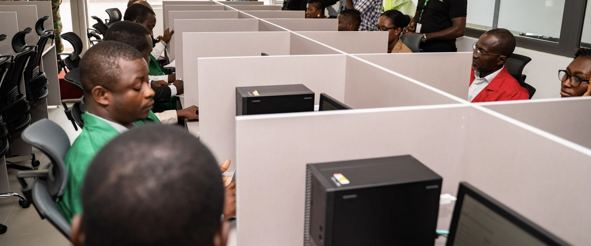 FIRST ELECTRONIC TRADE ON THE GHANA COMMODITY EXCHANGE EXECUTED image