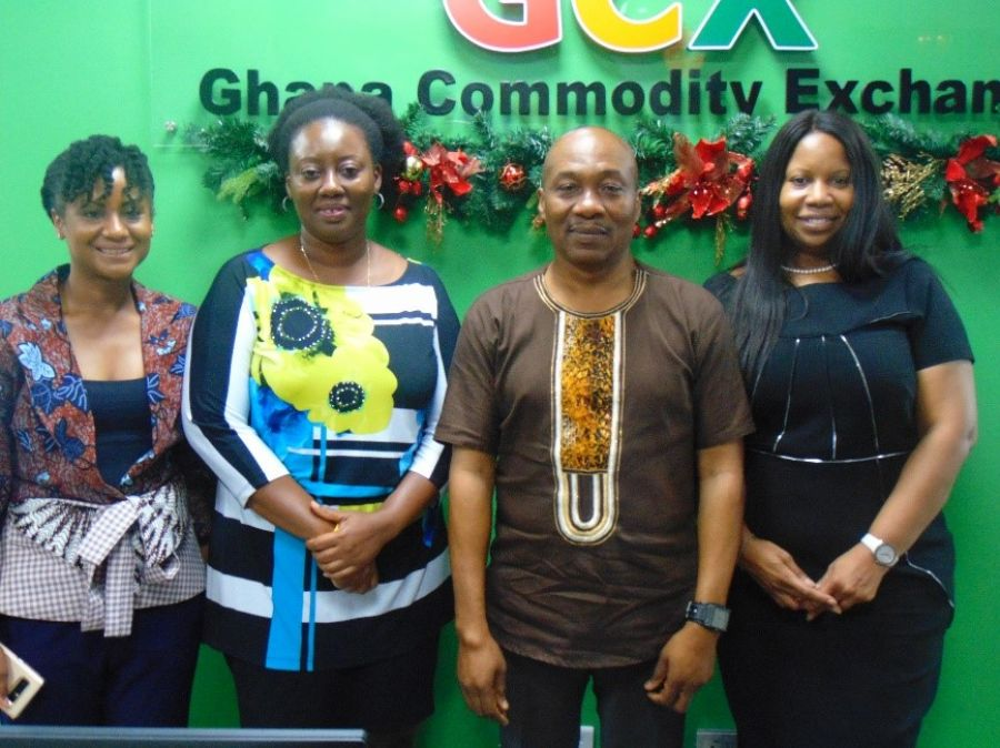 GHANA COMMODITY EXCHANGE (GCX) AND INTERNATIONAL FINANCE CORPORATION (IFC) IN DISCUSSIONS ON HOW TO IMPROVE PARTNERSHIP image